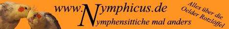 Antje - schöne Seite über Antjes Nymphensittiche